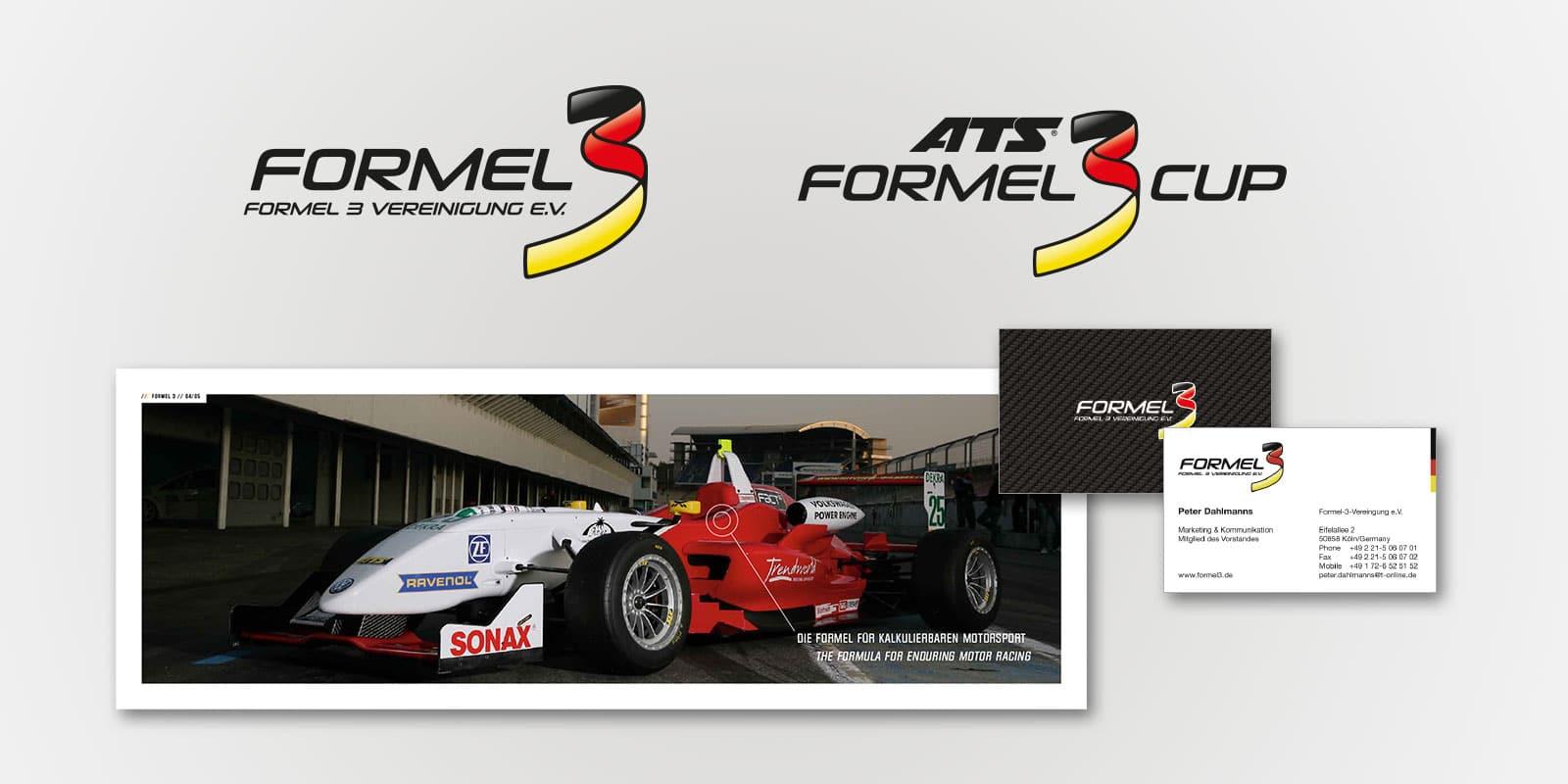 Formel3 Classics Corporate Design