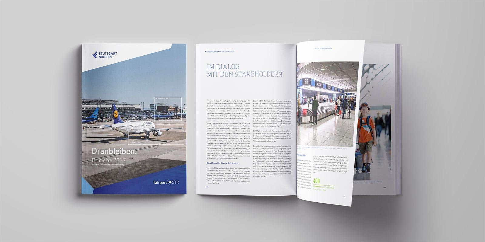 Flughafen Stuttgart Jahresbericht 2017