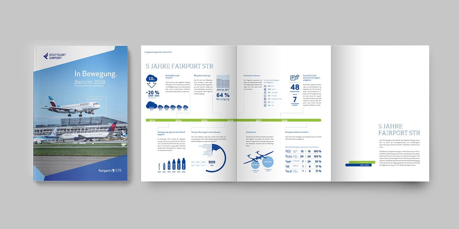 Flughafen Stuttgart Jahresbericht 2018