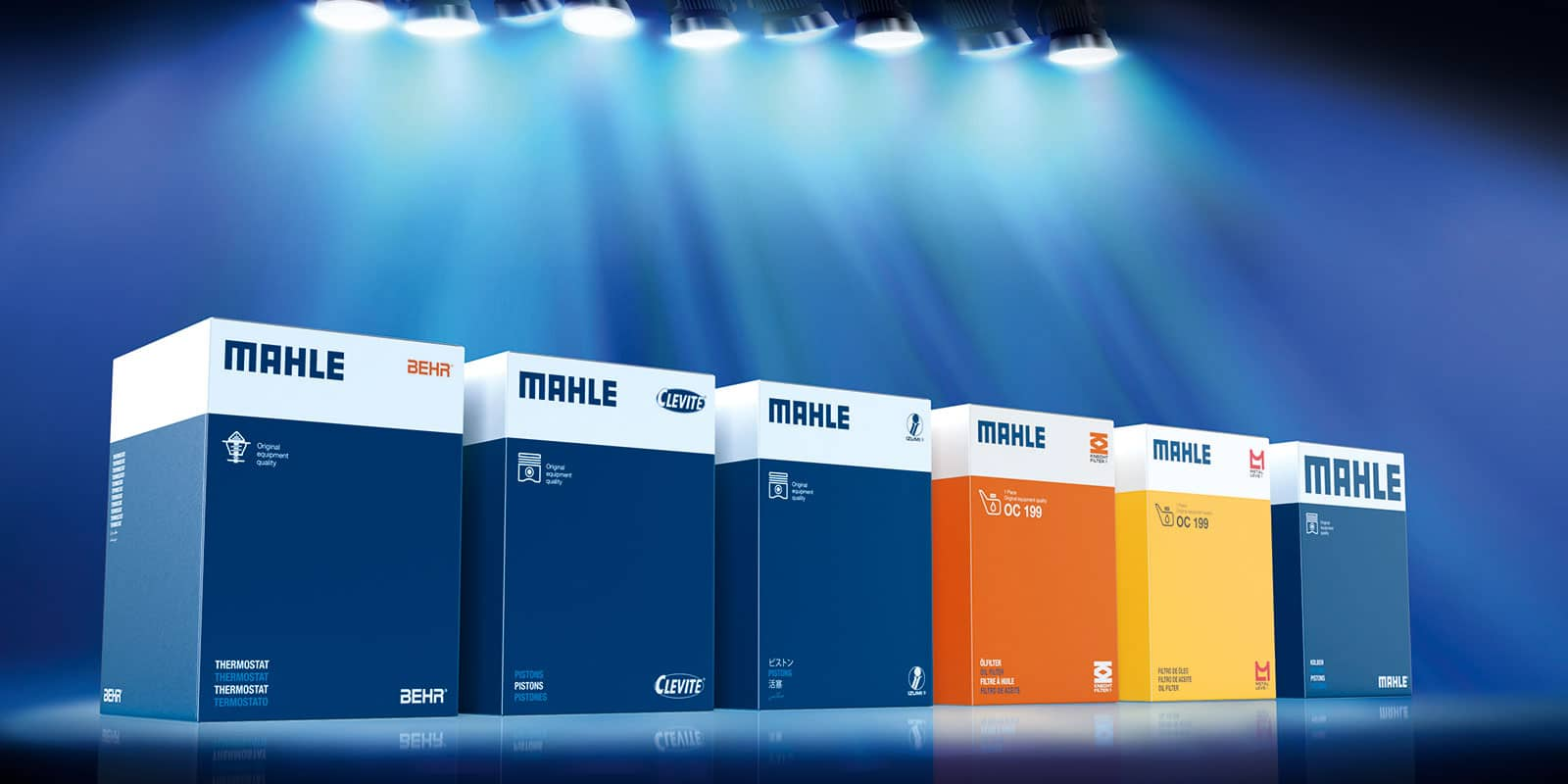 Mahle Verpackungsdesign