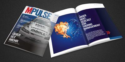 Mahle MPULSE-Magazin Titelseite 02/2019