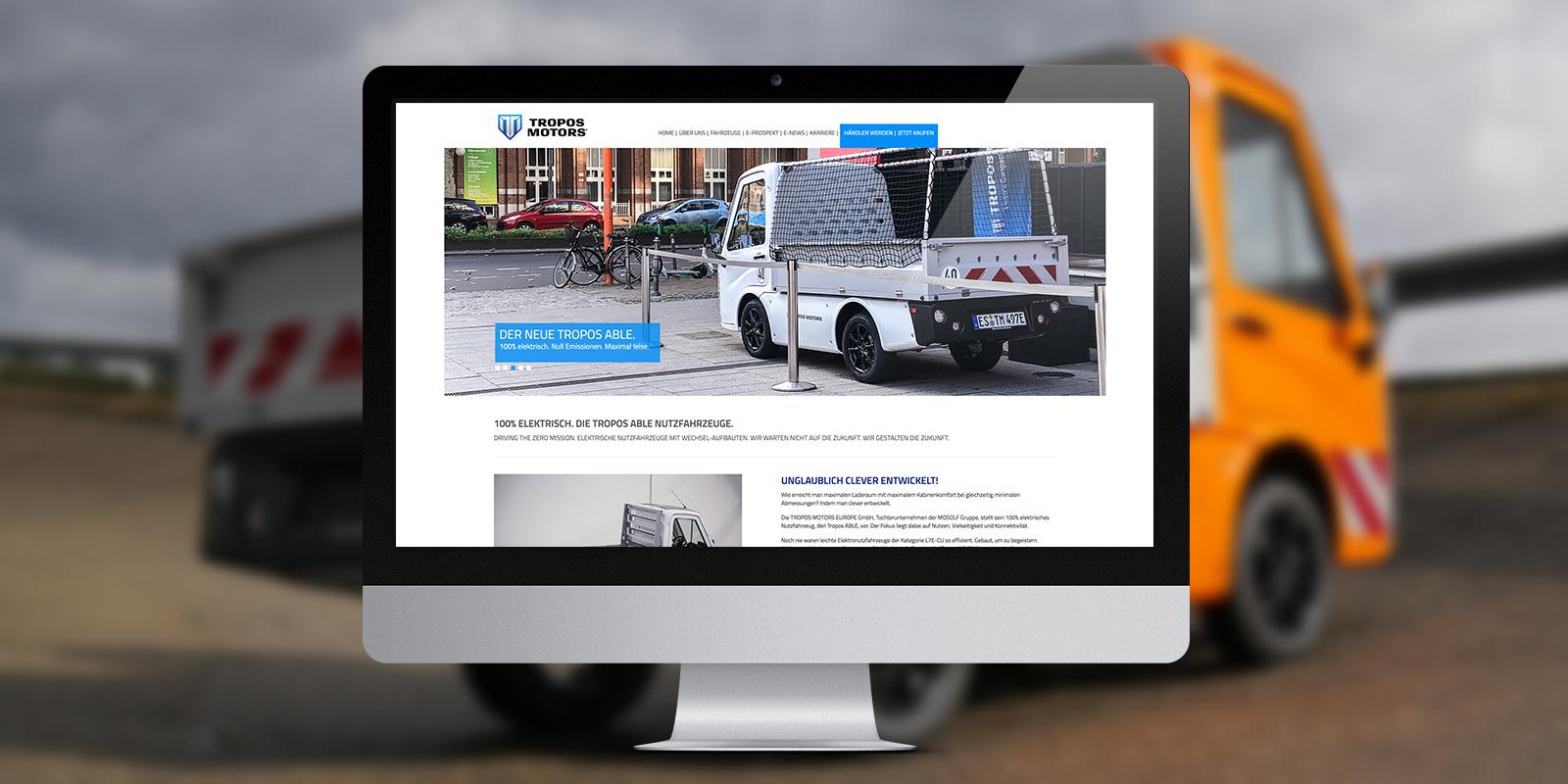 Tropos Motors New Website