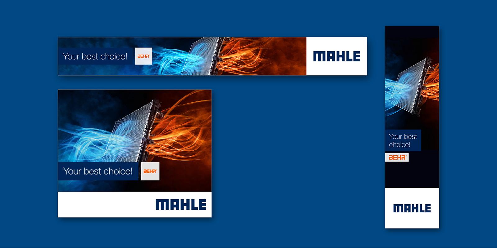 MAHLE Imagekampagne Banner