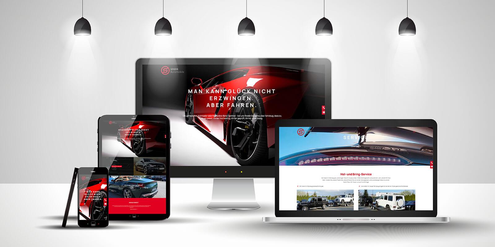 Sindik Automobile Website